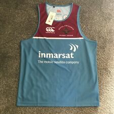 New listing CANTERBURY ROYAL AIR FORCE RUGBY UNION VEST BNWT SIZE L R22