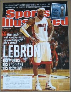 4/30/2012 Sports Illustrated LeBron James Miami Heat Washington Nationals Crosby