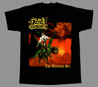OZZY OSBOURNE THE ULTIMATE SIN BLACK SABBATH NEW BLACK T-SHIRT AA363