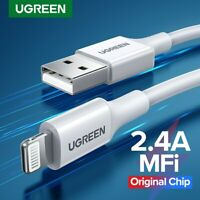 Ugreen Lightning Cable USB Data Sync Charging Cable For iPhone 11 X 8 iPad iPod
