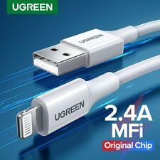 Ugreen MFi certificado Apple Lightning de Datos Sincronización Cable Cargador fr iPhone iPad iPod