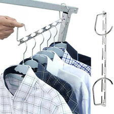 Cloth Shirts Clothes Hangers Clothes Racks Save Space Organizer Closet Hanger