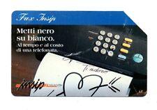 SCHEDA TELEFONICA TELECOM - FAX INSIP  £15.000