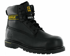 Male - Caterpillar Holton SB Safety Boot Black Size UK 8 eu 42 US 8.5