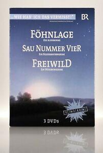 Heimatkrimi Box   3 DVDs   Sau Nummer Vier   Föhnlage   Freiwild