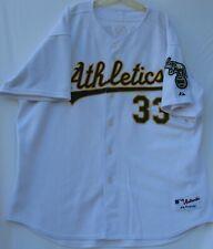 Majestic stitched Oakland Athletics baseball jersey #33 Jose Canseco men's 56