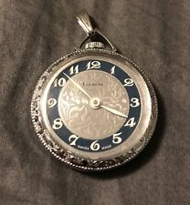 Watch Beautiful Swiss Made 1 Jewel Mid Century Style Ladies Lucerne Pendant