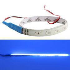 2×/set Blue 32 Led DIY Light Knight Rider Flash Strobe Scanner Strip Neon 30cm