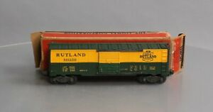 Lionel 6464-300 Vintage O Rutland Boxcar - Type IIA Split Door - Reproduction!