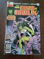 RARE** The Savage She-Hulk Vol. 1 No. 7 August 1980 Comic Book Swamp Demons