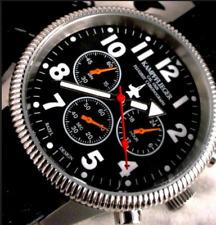 GERMAN AIR FORCE LUFTWAFFE COMBAT PILOT CHRONOGRAPH - 24 HOUR REGISTER