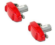 NEW OEM 2011-2020 F-350 RED Side Marker LED Rear Fender Lamp Light PAIR 2(Fits: Ford)