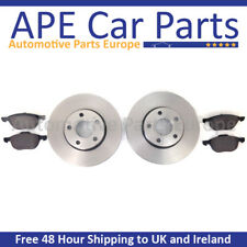 BMW 2 Series 218d 218i 01|15- Plain Rear Brake Discs & Pads