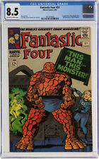 FANTASTIC FOUR #51 CGC VF+ 8.5 - THIS MAN...THIS MONSTER! - 1st NEGATIVE ZONE