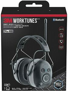 3M WorkTunes Wireless Hearing Protector with Bluetooth 90542 - BNIB - OZ Stock