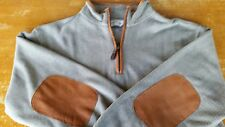 Orvis - LS Sweater - Medium - Leather Elbow Patches, MINT! Out-of-Season SALE!