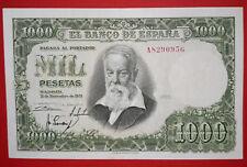 SPAIN * SERIE  A * DIFICIL  1000 PESETAS 1951 J.SOROLLA  ( SC- ) AUNC