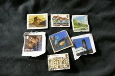 7 Architecture commemorative UK British postage stamps philately philatelic