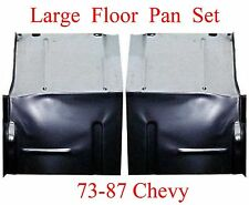 73 87 LARGE Floor Pan Set W Backing Plate Fits Chevy GMC Truck Blazer, Suburban