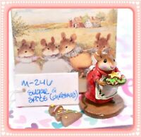 ❤️Wee Forest Folk M-246 Sugar & Spice Christmas Cookies Limited Edition Red❤️
