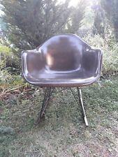 1 von Eames Herman Miller Armchair Rocker Glasfaser Rocking Chair Fiberglas 60er