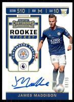 2019-20 Chronicles Soccer Contenders Rookie Ticket Auto RT-21 James Maddison /99