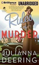 A Drew Farthering Mystery: Rules of Murder 1 by Julianna Deering (2014, MP3...
