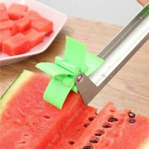 Slicer Watermelon Cutter Steel Stainless Fruit Kitchen Tool Knife Melon Corer
