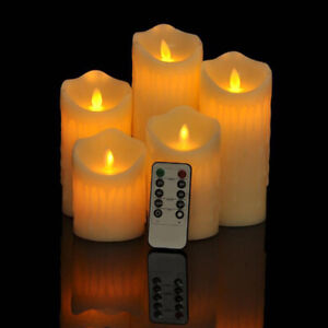 Limited Stocks Remote Control Flameless Flickering LED Candles Battery Tea Light