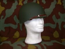 Interno completo elmetto M1 liner, OD Inner helmet US Army WW2, Oliver drab