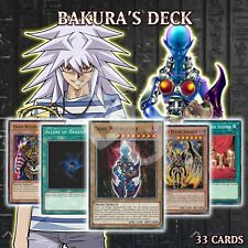 BAKURA'S STARTER DECK 33   Dark Necrofear Allure Dark Ruler Ha Des YuGiOh