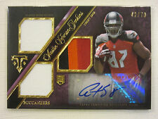 2014 Triple Threads Rookie, 4 Color Patch, Autographed Card A. Seferian-Jenkins