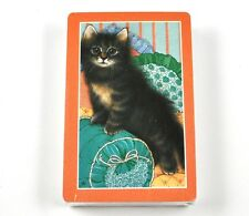 Hoyle Gatos Gatito Juego de Cartas EE.UU. Jugando a las Naranja Marco