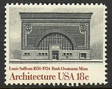 US  1981 Scott # 1930- American Architecture MNH