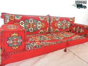 Kilim Sofa/Arabic Floor Seating/Arabic Majlis/Arabic Couches/Arabian Sofa- MA 25