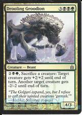 MTG Magic the Gathering TCG RAVNICA Drooling Groodion Creature Beast 204