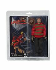 "NECA Nightmare on Elm Street retrò vestito 8"" Freddy Krueger ACTION FIGURE doll"