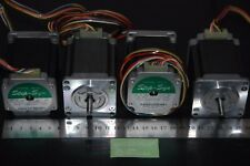 LOTE 4 STEPPER MOTOR PAP  SANYO DENKI  3,35A POTENTES CNC ,LASER, 3D , DIY...