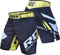 RDX MMA Shorts Kick Boxing Mens Muay Thai Cage Grappling Short Fight R4Y