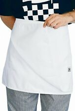 White 4 Sided Chef Apron