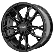 "4-Helo HE907 17x7 5x112 +38mm Gloss Black Wheels Rims 17"" Inch"
