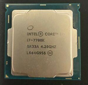 Intel Core i7-7700K CPU 4 Core 8 Thread 4.2 Ghz