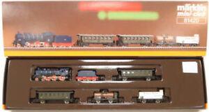 Marklin 81420 Z Scale DR Steam Passenger & Freight Train Set LN/Box