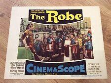 THE ROBE Original PEPLUM Lobby Card RICHARD BURTON JEAN SIMMONS JAY ROBINSON