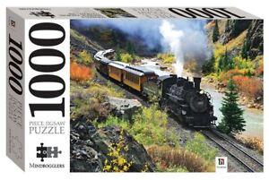 1000 Piece Jigsaw Puzzle - Durango & Silverton Railroad, Colorado, USA