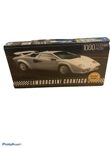 FX Schmid Lamborghini Countach 1000 Pc Jigsaw Puzzle Rare  New & Sealed