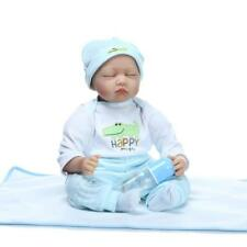 55cm Life Like Sleeping Reborn Baby Doll Vinyl Silicone Xmas Gift Birthday Gift