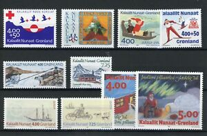 [310924] Greenland good lot very fine MNH stamps