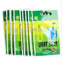50 Pcs Night Fluorescent Float Lightstick Glow Stick for Fishing_vi bn