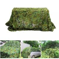 Camouflage Netting Outdoor Hunting Camping Camo Net Woodland Camping Hide U2X4